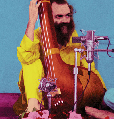 Photograph of La Monte Young