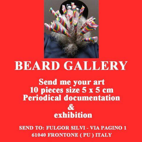 Beard Gallery Poster