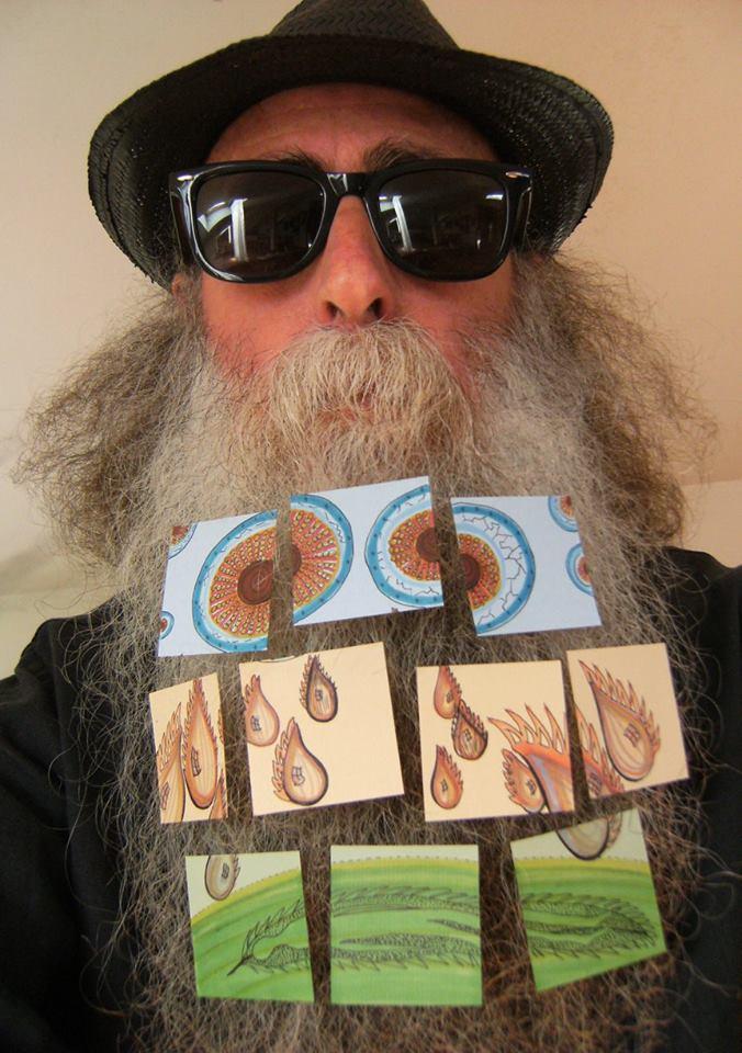 Fulgor Silvi beard gallery exhibit, artwork of Maria Cristina Ponzetti
