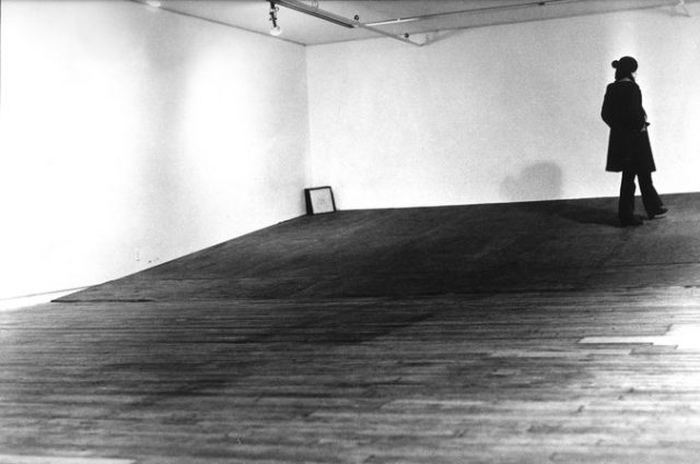 Seedbed by Vito Acconci