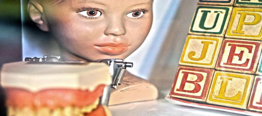 Dada meets fluxus dolls and false teeth