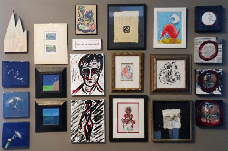 Big Ideas in Small Art show. Concurrent with Fluxfest 2019 in Toronto. June 20 to June 23